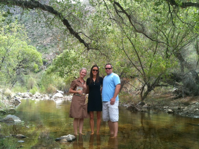 Sabino canyon wedding