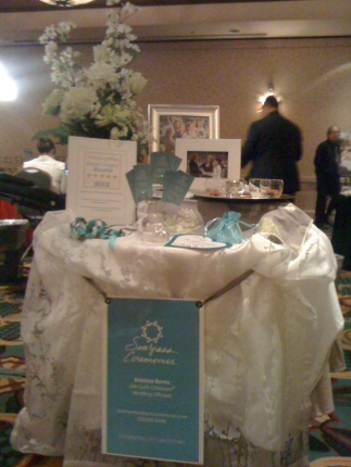 My table for Sweetgrass Ceremonies last winter.