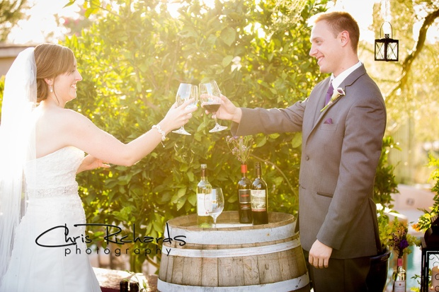 Blending Wine in a Unity Ritual