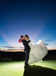One of many happy couples who worked with Meagan!
